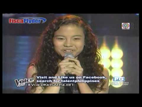 The Voice Kids Philippines - Shanne Dandan ( Complete Clip / Full Screen )