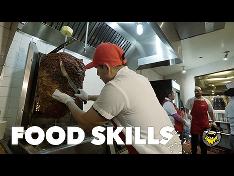 The Best Tacos in NYC | Food Skills (видео)