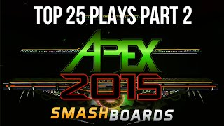 Top 25 Super Smash Bros Plays of Apex 2015 – (Part 2/5)