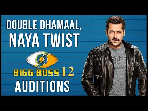 Salman Khan's 'Bigg Boss 12' Audition Begins | Det