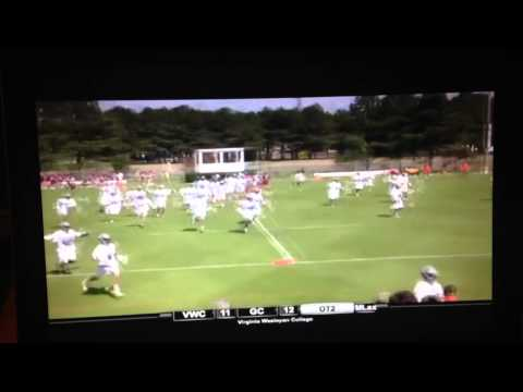 Game-winning goal in 2OT win over Guilford