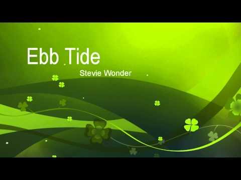 Tekst piosenki Stevie Wonder - Ebb Tide po polsku