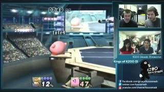 How Kirby deals with Fox (And one of his worst MUs, Marth!)