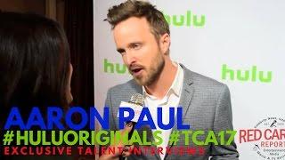 Aaron Paul interviewed at Hulu Original Series Winter TCA Talent Event #TCA17