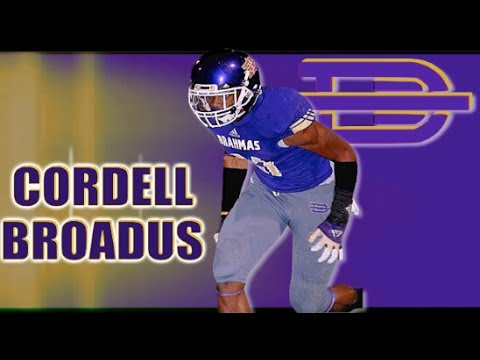 cordell - 6'4 WR Cordell Broadus '15 ( Diamond Bar , CA) Junior Year Mid-Season Highlights.