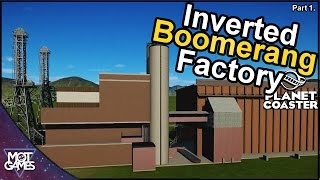 Welcome too the BOOMERANG FACTORY! A short mini build series , maybe 5 or 6 episodes while i build the coaster and the huge factory building that surrounds i...