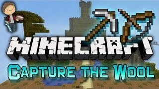 Minecraft: Capture The Wool Mini-Game Part 2 of 2 w/Mitch, Jerome, and Ryan!
