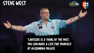 "Steve West: ""Lakeside is a thing of the past, you can make a life for yourself at Alexandra Palace"""