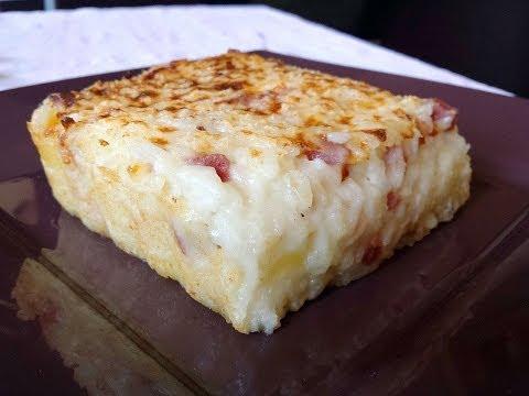 sformato di riso al forno con prosciutto e fontina - video ricetta