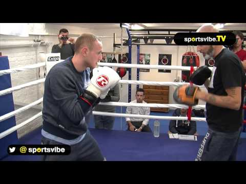George Groves Works Out Ahead Of Comeback Fight