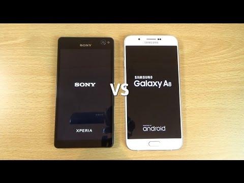 Samsung Galaxy A8 VS Sony Xperia C4 - Speed & Camera Test!