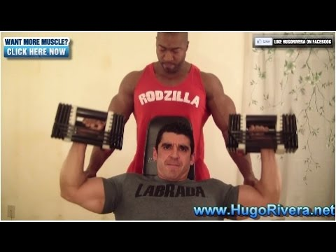 Short 15 Min Home Bodybuilding Shoulders Workout with Hugo & Rodzilla