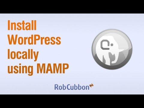 Install WordPress locally using MAMP