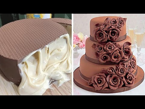 Best Recipes for June | So Yummy Cake Hacks | Most Satisfying Chocolate Cake Decorating Ideas