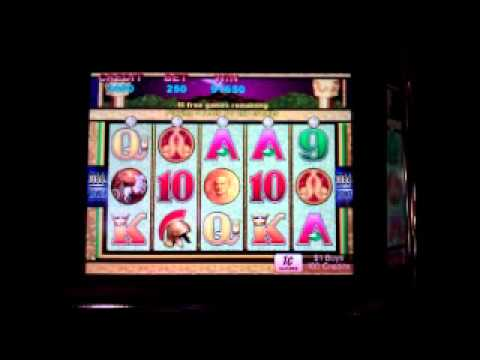 Pompeii Slot Machine Bonus - Big Win! Ameristar Casinos - Blackhawk, CO