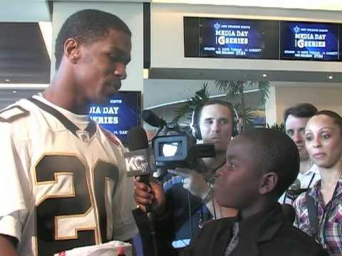 KEC TV at 2010 Super Bowl Media Day - Part 2