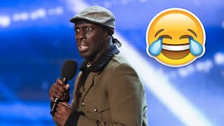Video Britain's Got Talent Top 5 COMEDIANS (Auditions) MP3, 3GP, MP4, WEBM, AVI, FLV April 2018