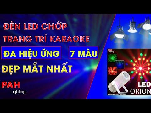 Đèn LED Bi Orion giá rẻ trang trí Karaoke thêm sinh động