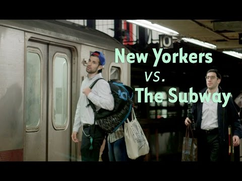 Hauska kokoelma metrosta myöhästyvistä New Yorkkilaisista
