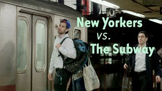 Watch This Beautiful Compilation of New Yorkers Missing the Subway Train