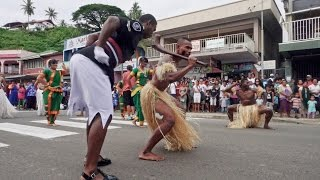 Bula!! Come to the parade! Here's an experience of the world-renowned Fiji Police Marching Band as they boogie down the main street of Savusavu on the ...