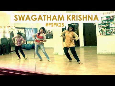 Video Swagatham krishna Dance - Agnyathavaasi - #PSPK - Anirudh - Awon Dance n Fitness Studio download in MP3, 3GP, MP4, WEBM, AVI, FLV January 2017