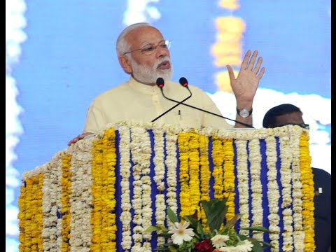 PM's speech at the dedication of multiple Development Projects in Bharuch, Gujarat