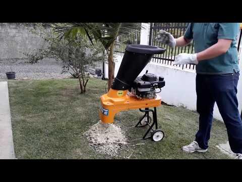 Triturador de residuos organicos e galhos lippel- BIO 32 G