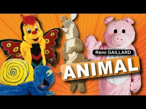 Remi Gaillard - Animal Costume Prank Compilation