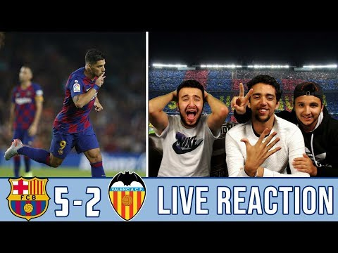 WHAT A PERFORMANCE! WHAT A MIDFIELD TRIO! 5-2 | REACTION - REACCIONES