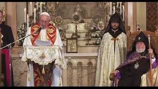 Pope Francis Visits Armenia, the world's first Christian Nation