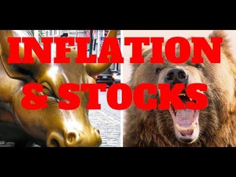 STOCK MARKET NEWS - WILL INFLATION CRASH STOCKS OR PUSH THEM HIGHER?