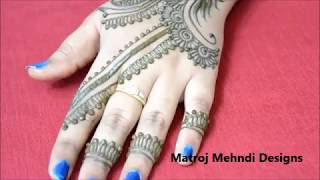 hello all,here is a video on eid special mehndi designs for hands.follow on : https://www.instagram.com/divya080/subscribe for more videos:https://www.youtube.com/channel/UCECgulN13NACgO49LRXeQpAfacebook : https://www.facebook.com/Matroj-Mehndi-Designs-284372255239829/