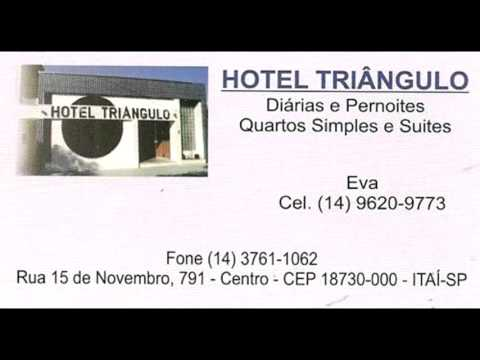 Hotel Triangulo em Itai SP