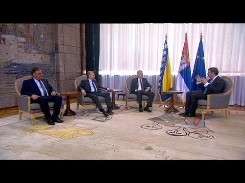 Στη Σερβία οι τρεις συμπρόεδροι της Βοσνίας – Ερζεγοβίνης