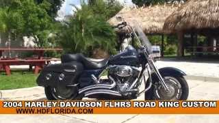4. Used 2004 Harley Davidson Road King Custom for sale