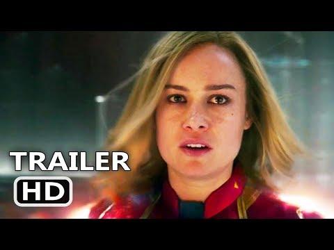 CAPTAIN MARVEL Trailer # 2 (NEW, 2019) Brie Larson, Marvel Movie HD