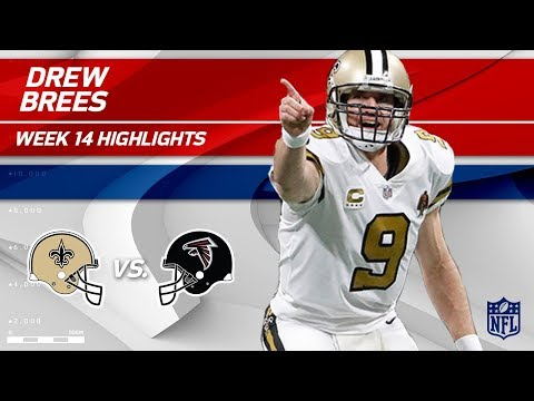 Video: Drew Brees' 271 Passing Yards & 2 TDs vs. Atlanta | Saints vs. Falcons | Wk 14 Player HLs