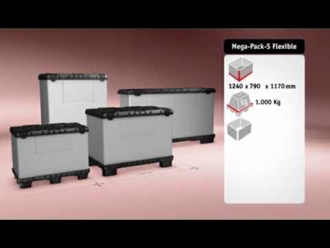 Mega-Pack S Flexible von Walther Faltsysteme