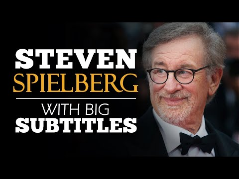 ENGLISH SPEECH | STEVEN SPIELBERG: Follow Your Intuition (English Subtitles)