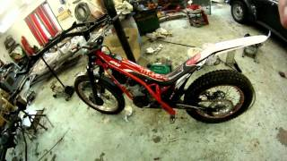 7. Gas Gas TXT Pro Racing 125 2011 Features and sound