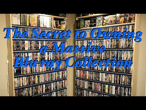 The Secret to Owning a Massive Blu ray Collection - The Blu Obsession Ep. 3