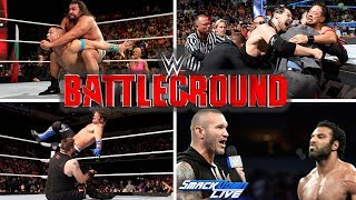 Hello guys!These are the expected and predicted match card for WWE Battleground 2017!If you enjoyed this video and want more like this then please leave a like on this video and subscribe to my channel! It will be much appreciated. Thank you for watching the video and have a great day!----------------------------------------------Credit to WWE for pictures used:http://www.wwe.com/Background from: http://wallpapersafari.com/royalty-free-wallpapers/Music from NoCopyrightSounds:Konac - Home [NCS Release]Link: https://www.youtube.com/watch?v=6TFfIgMeYQ0Konac• https://soundcloud.com/konac• https://www.facebook.com/itskonac• https://www.youtube.com/c/konac• https://twitter.com/konac_