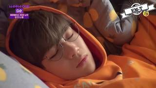 Video [EM-T] WANNA ONE - SLEEP AND WAKE UP MOMENTS MP3, 3GP, MP4, WEBM, AVI, FLV Mei 2019