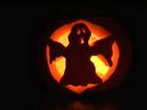 How To Carve A Ghost Pumpkin Lantern