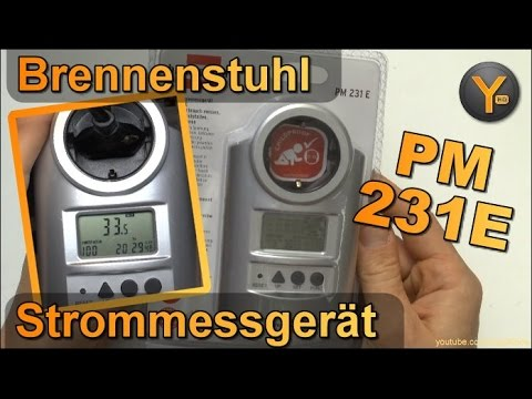 Test & Einrichtung: Brennenstuhl Energie-Messgerät PM231E / Primera Line / Stromverbrauch messen