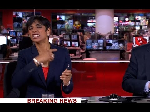 BBC News Blooper During Westminster Attack