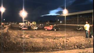 Colby (KS) United States  city photos : 2015 Thomas County Fair, Colby Kansas, Demolition Derby Heat 1