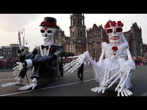 Dia de Muertos Parade, Mexico City