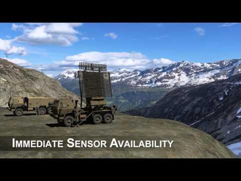 The Multi-Role Radar (TPS-77 MRR)...